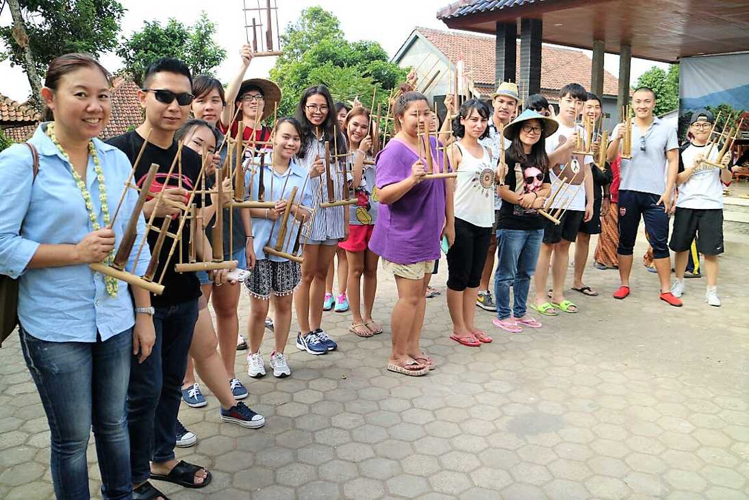 Traditional Music Instrument, Desa Wisata Cibuntu